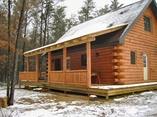 We Offer Unique Custom Milled, Authentic Hand Peeled Log Home Components  And Complete Log Packages.