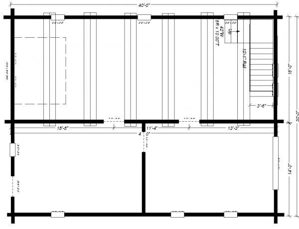 30x40 Barn / Shop Main