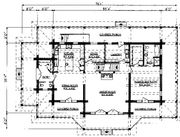 cape scott main floor plan