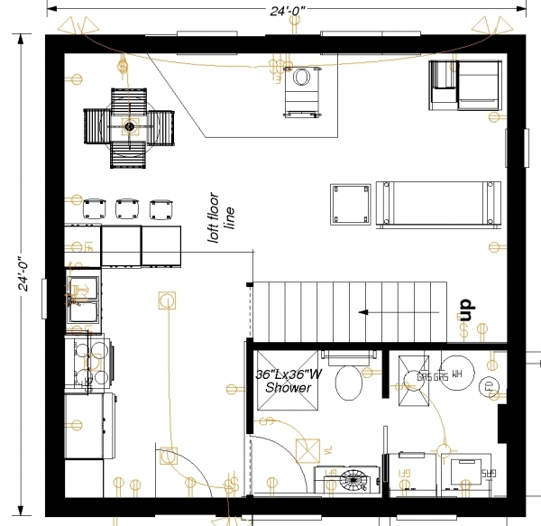 Floorplan picture detail 24x24 floor plans