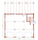 Log home plans from classic log homes inc for 32x40 garage plans