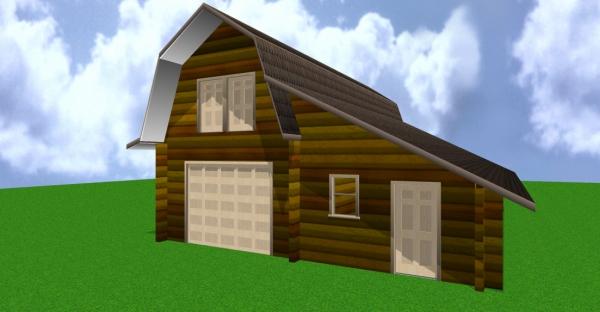 30x40 Barn / Shop / Garage rendering